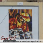 Oval The Pan Man by Sonel Rowley on wall at the Oval in sweet T&T for Sweet TnT Magazine, Culturama Publishing Company, for news in Trinidad, in Port of Spain, Trinidad and Tobago, with positive how to photography.