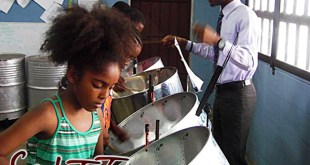 Matthew Benoit: Steelpan in sweet T&T for Sweet TnT Magazine, Culturama Publishing Company, for news in Trinidad, in Port of Spain, Trinidad and Tobago, with positive how to photography.