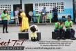 Reader's theatre, children act in schoolyard, Stacey Alfonso-Mills, Literature, in sweet T&T, Sweet TnT Magazine in Trinidad and Tobago