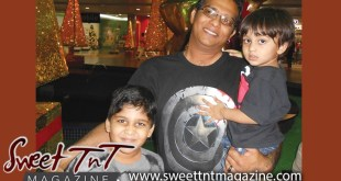 Hosein dad and kids for Fathers Day by Nerissa Hosein in Sweet T&T, Sweet TnT, Trinidad and Tobago, Trini, vacation, travel