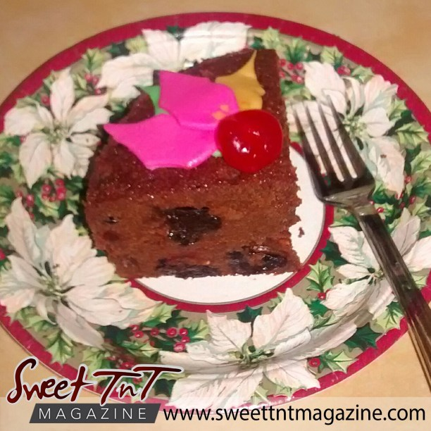 Food - Fruit cake slice by Radha Ramoutar.