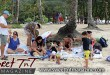 Family, tourists on sand at Maracas Beach, Sweet T&T, Sweet TnT, Trinidad and Tobago, Trini, vacation, travel