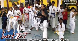 Students of Golden Eagle Martial Arts, Sensei Kester Marquis, Zayn Hosein, Sweet T&T, Sweet TnT, Trinidad and Tobago, Trini, vacation, travel