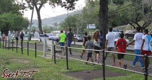 Youth walking Queens Park Savannah Port of Spain for How to lose weight story in Sweet T&T, Sweet TnT, Trinidad and Tobago, Trini, vacation, travel