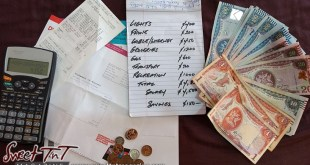 TT dollars bills, savings, money for how to save money article in sweet T&T for Sweet TnT Magazine, Culturama Publishing Company, for news in Trinidad, in Port of Spain, Trinidad and Tobago, with positive how to photography.