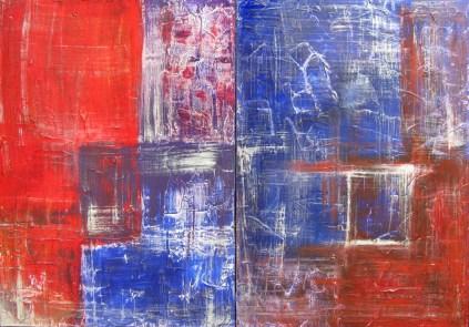 Swetlana Federmann - Rot Blau