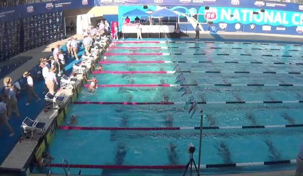 古賀、USAチャンピオンに 競泳 100m背泳ぎ
