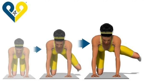 綺麗な水中姿勢を作る為の大臀筋トレーニング