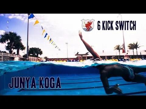 背泳ぎの練習方法「スイッチングドリル」