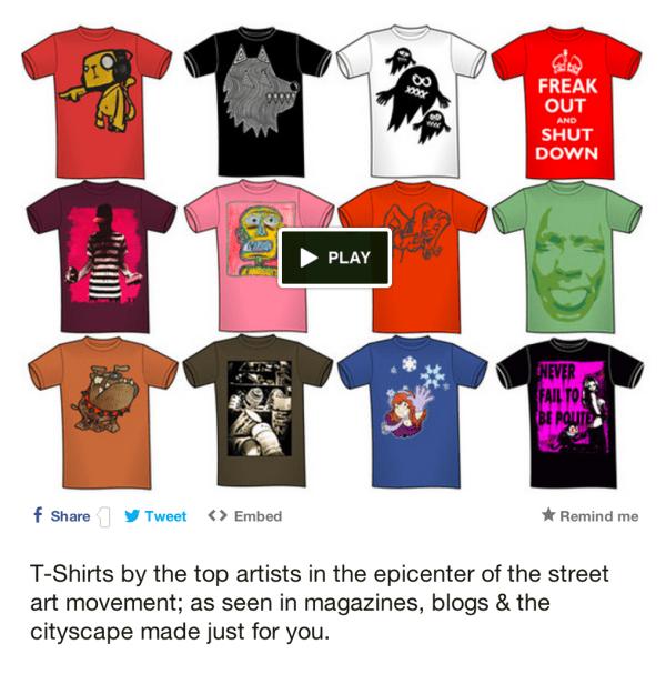 Maximillian Gallery Street Art T-Shirts