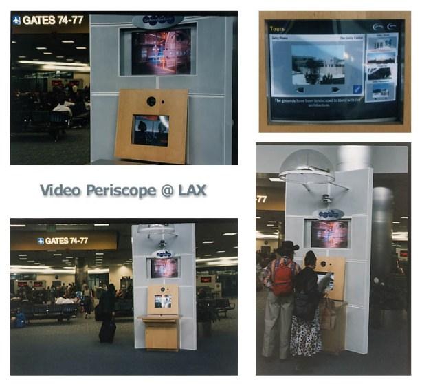 Video Periscope Kiosk