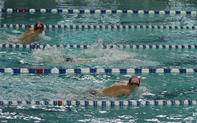 Swim Drill – Breaststroke Under Lane Lines