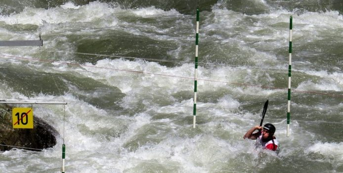 Swimming Game – Slalom