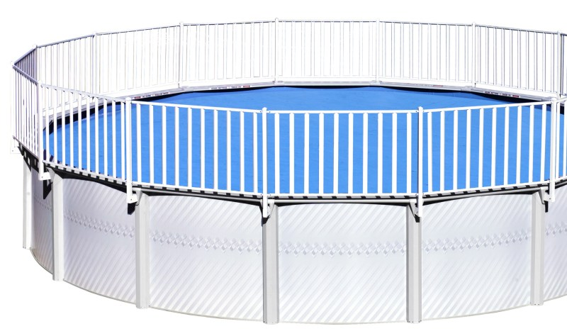 Large Of Above Ground Pool Fence