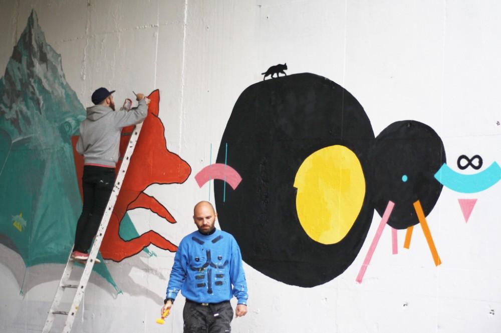 Rozhovor so street art umelcom a grafickým dizajnérom Petrom Dlhopolčekom