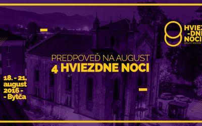 2. Hviezdne noci v Bytči sa stávajú multikultúrnym festivalom