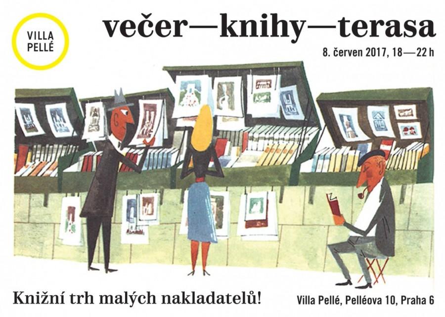 Večer – Knihy – Terasa Praha: Príďte si pozrieť mladých ilustrátorov