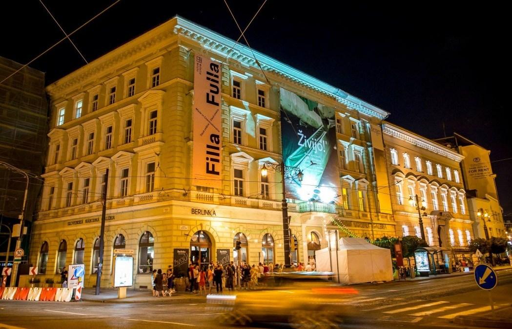 Slovenská Národná Galéria v Bratislave a jej program na október