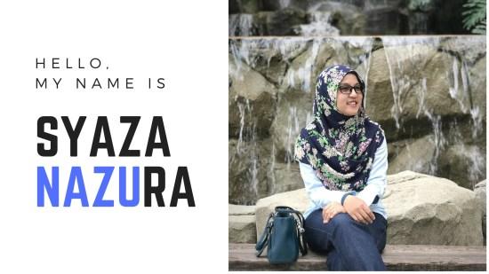 Syaza Nazura about me