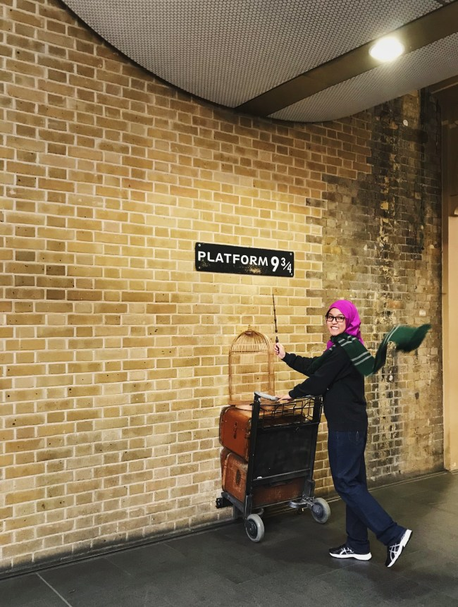 Heading off to Hogwarts.