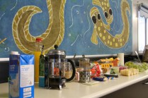 Coffee, tea and snacks are provided by Sydney SCB