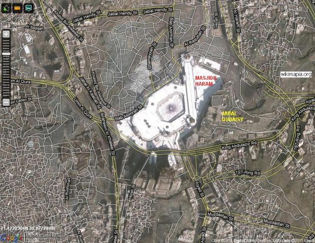 Peta Masjidil Haram