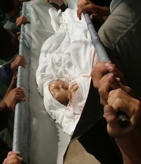 Israel killing babies