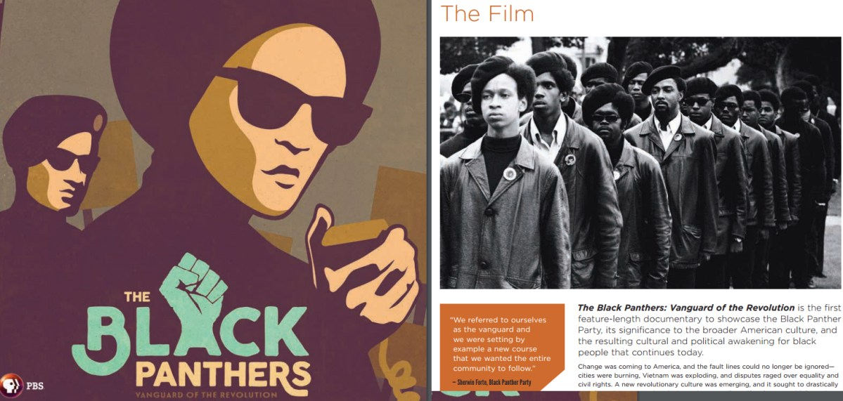 #BlackPanthersPBS Study Guide - Vanguard of the Revolution