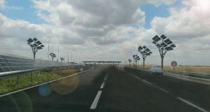 """Mobilité Durable - projet pour des autoroutes """"solaires"""" au Maroc"""