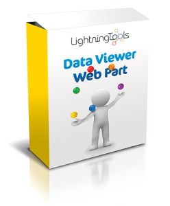 Lightning Tools Data Viewer Web Part