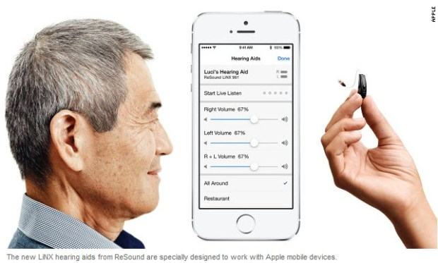 Can Apple help make hearing aids cool?