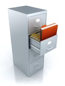 Filing Cabinet Drawer Folder