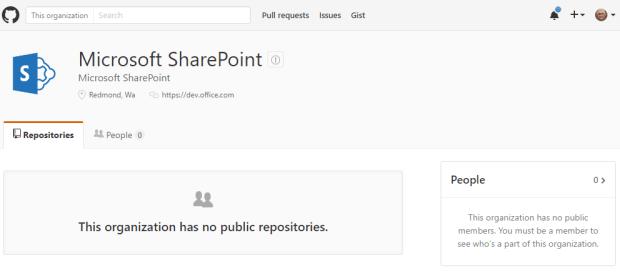 SharePoint on Github
