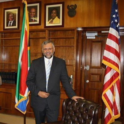 Ambassador Rasool at his office 4 August 2010 006
