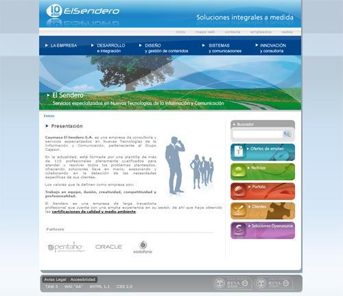 El Sendero gestionará las webs de la Consejería de Salud de la Junta de Andalucía