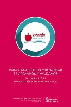 La Escuela de Pacientes de Navarra organiza en mayo y junio talleres sobre enfermedades crónicas, vasculares y Alzheimer