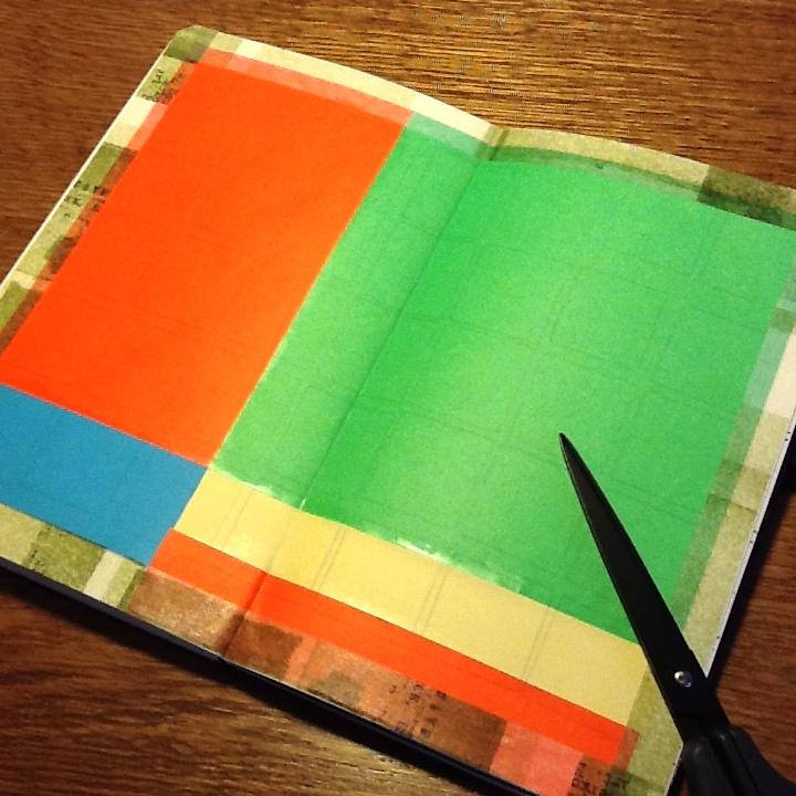 モレスキンスケッチブックで絵を失敗したときに、私がやっているシンプルなリカバー術
