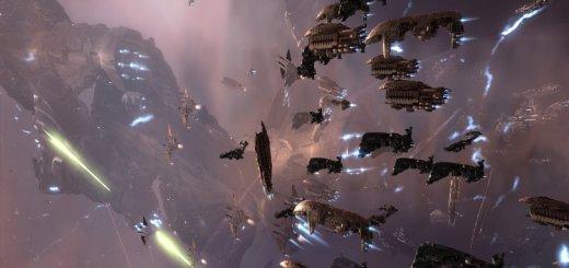 EVE-Online-Retribution-fleet-action