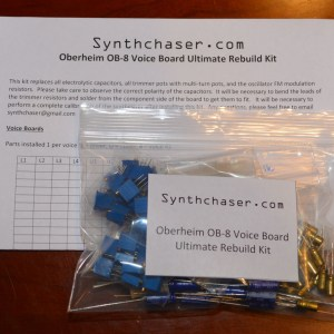 Oberheim OB-8 Voice Board Ultimate Rebuild Kit