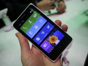 Nokia X Specifications