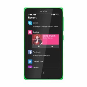 Nokia X Specification