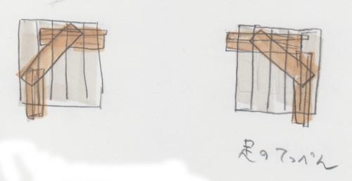 カプラキリンの足