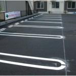 ライン一本で、行動が変わる駐車場のデザイン