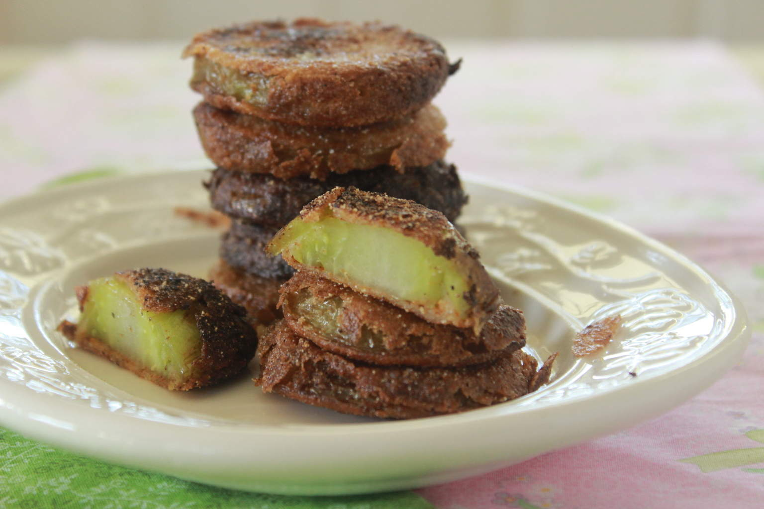 Fried Green Tomatoes. They live up to the hype. We love them as much ...