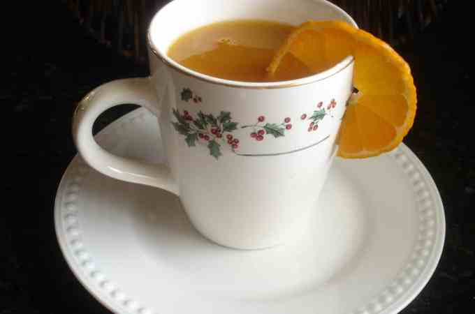spiced tea in a cup 001