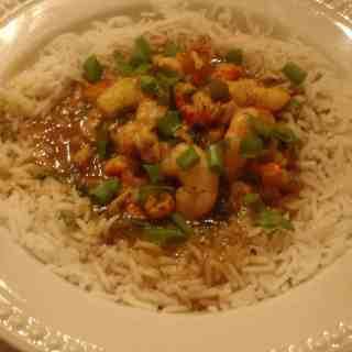 shrimp and crawfish etouffee 030