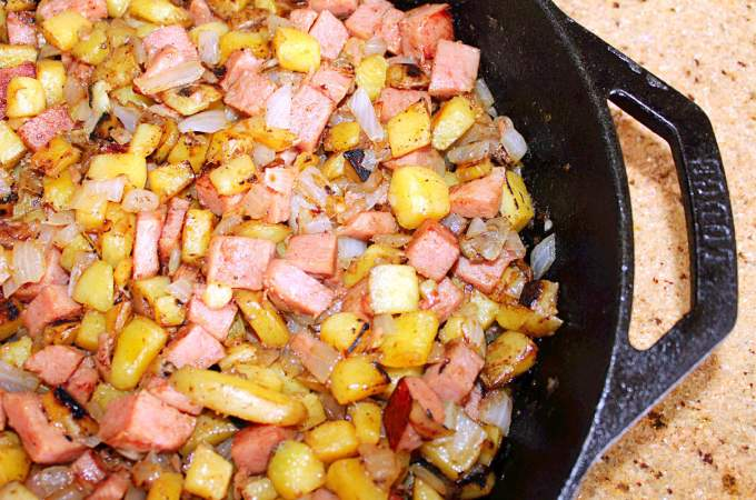 SPAM and Potato Hash