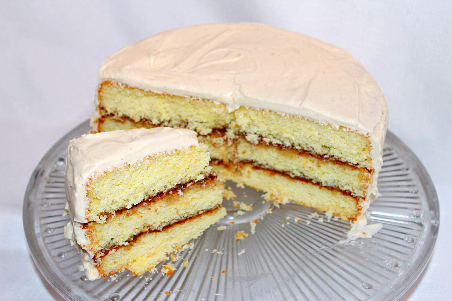 Simple Butter Cake Images : Apple Butter Cake with Apple Butter Cream Cheese Icing