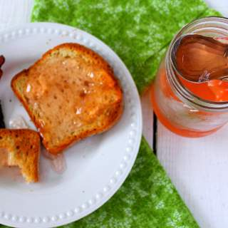 Apple Peel Jelly ~ Syrup and Biscuits