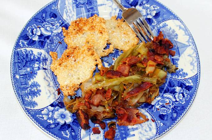 Skillet Fried Cabbage ~ Syrup and Biscuits